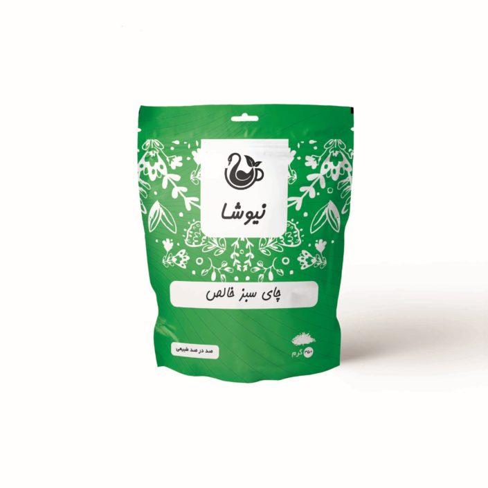 چای سبز 350 گرمی نیوشا